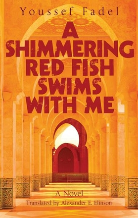 A Shimmering Red Fish Swims with Me